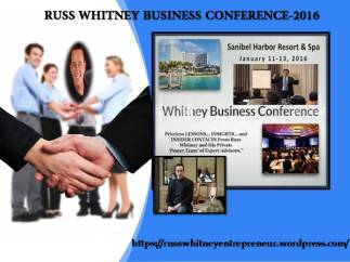 RUSS WHITNEY BUSINESS CONFERENCE-2016